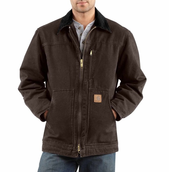 Carhartt Other - Men's Carhartt Sherpa Lined Jacket Coat